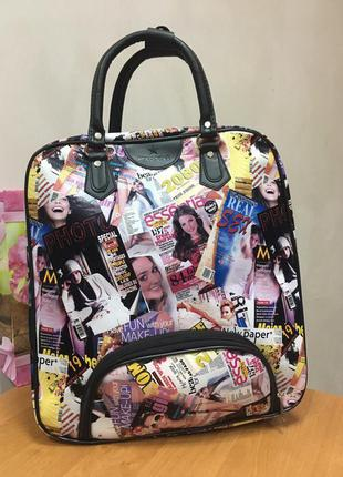 Дорожная сумка l15+ глянец