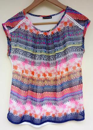 Блузка parkhande з красивим літнім прінтом