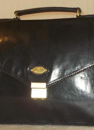 Деловой портфель (сумка) *gillian*натуральная кожа.