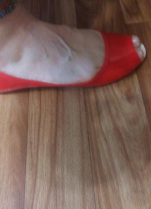 Силиконовые мокасины с открытым носком