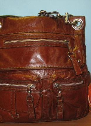 Женская сумка autograph кожа