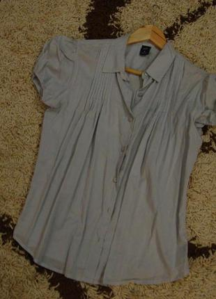 Котоновая блуза, рубашка gap