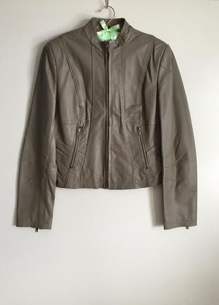 Стильная куртка из натуральной кожи от next