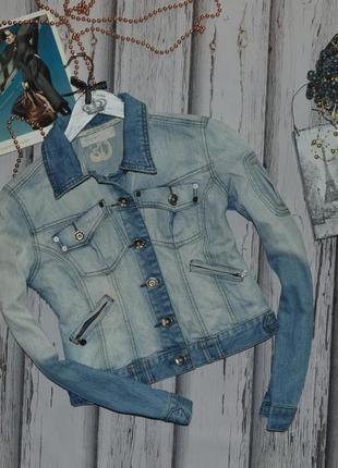 Джинсовая куртка crafted