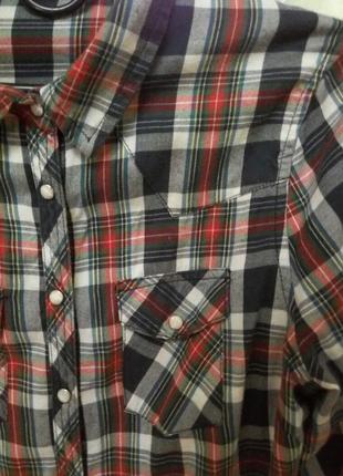 Клетчатая рубашка dilvin