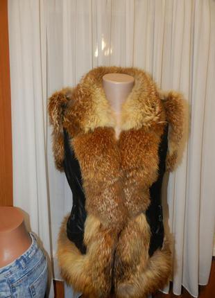 Шубка жилетка куртка