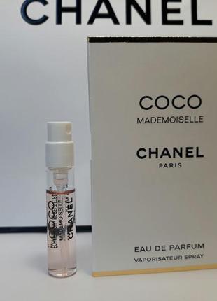 Пробники chanel coco mademoiselle оригинал 2 мл
