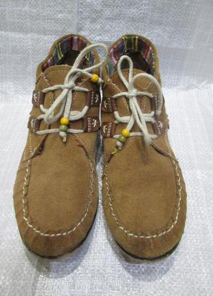 Деми  ботиночки tamaris замша