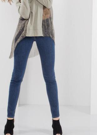 Узкие джинсы скинни с завышенной талией от cheap monday