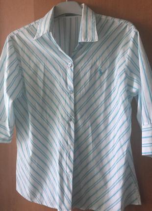 Отличная весенняя рубашка polo от ralph lauren