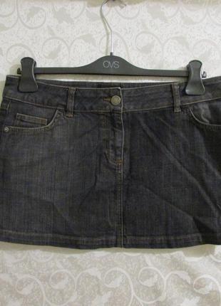 Джинсовая юбка warehouse размер 46-48