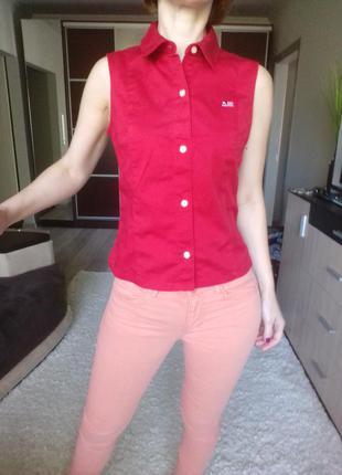 Отличная рубашечка безрукавка ralph lauren