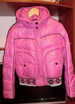 Куртка пуховик р .48