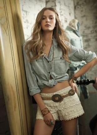 Рубашка джинсовая стильная