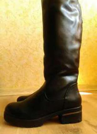 Новые зимние сапоги 40 размера
