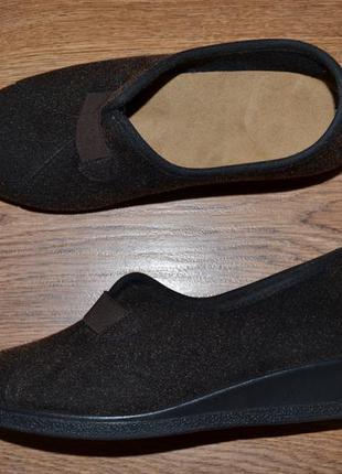 Р. 36/36.5 - 24 см. rohde германия. тапочки с ортопедической стелькой фирменные оригинал