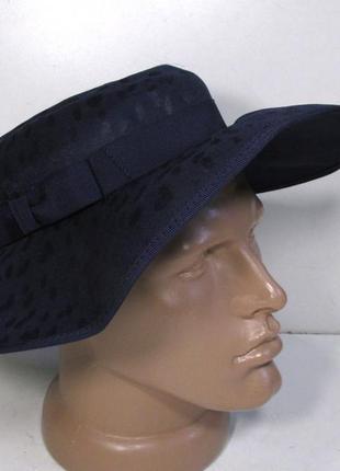 Шляпа женская kangol, 54-55 см, синяя