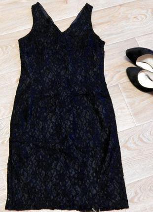 Маленьке чорне плаття з якісного мережива!!!