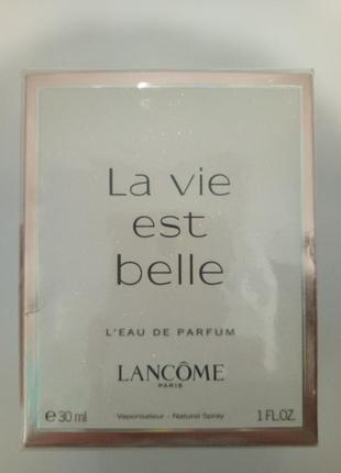 Туалeтная вода lancome la vie est belle 30мл оригинал