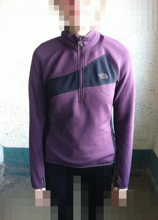 The north face лыжная кофта свитер размер м