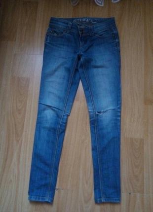 Узкие джинсы, размер с