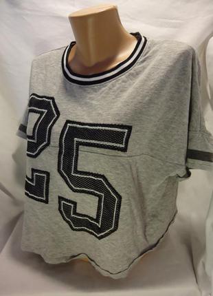 Kiabi, свободная футболка , р-р m