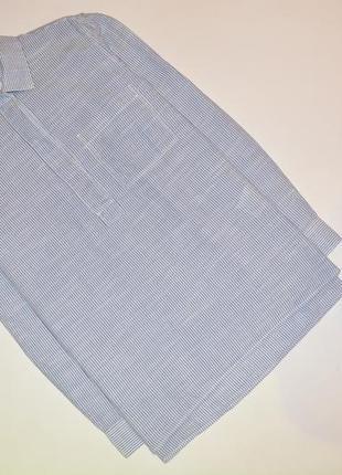 Рубашка в полоску, стильная полосатая рубашка gap1