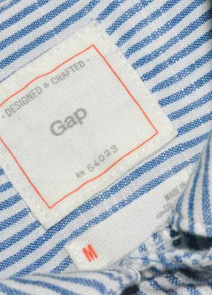 Рубашка в полоску, стильная полосатая рубашка gap5
