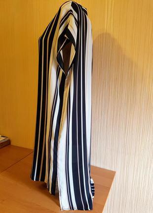 Полосатая блуза-туника 52-56р3