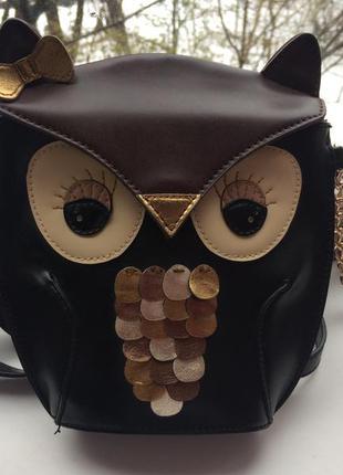 Милая сумочка в виде совы