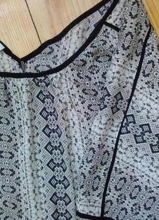 Шикарная легкая блуза promod, вискоза2