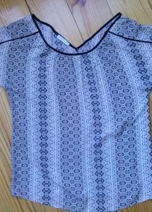 Шикарная легкая блуза promod, вискоза1