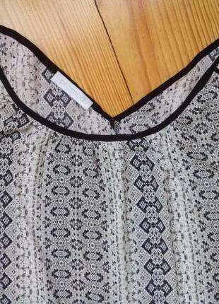 Шикарная легкая блуза promod, вискоза3