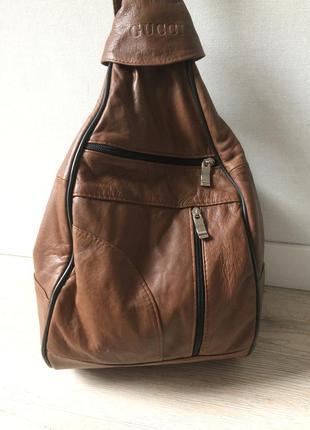 Кожаный рюкзак, 100% кожа