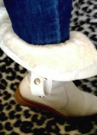 Продаются кожаные женские зимние сапоги