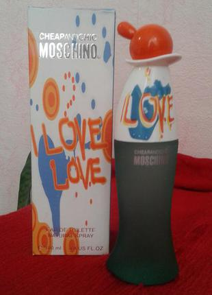 Moschino i love love 199 грн. обмен