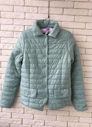 Новая очень красивая бирюзовая итальянская курточка