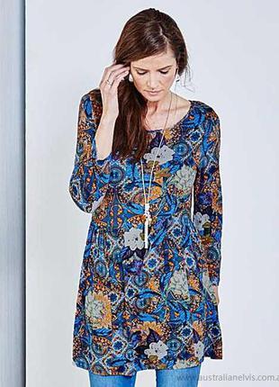Редкость красивейшая туничка  блуза большой размер