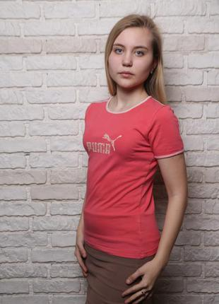 Розoвая футболка puma