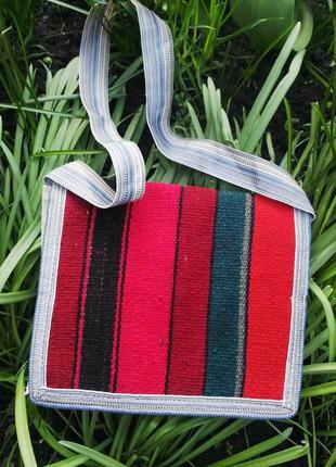 Сумка,торба,кроссбоди ручной работы(полотняная),этно стиль.