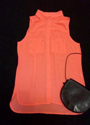 Фирменная блуза-рубашка pimkie,блузочка+подарок ремешок