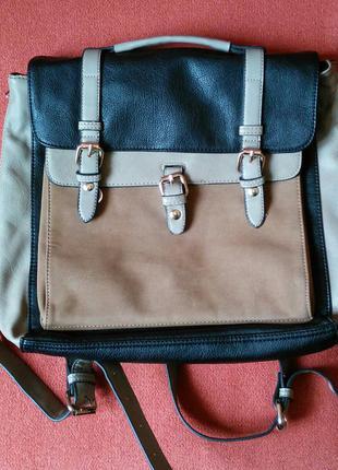 Крутой рюкзак-портфель