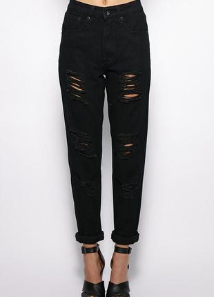 Джинсы бойфренды,mom jeans,бананы,джинсы с высокой посадкой,завышенной талией,мом ...