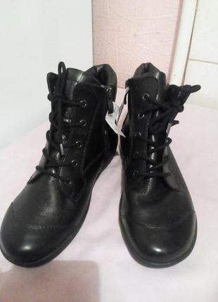 Кожаные ботинки.,,caprice,,.германия.размер 38