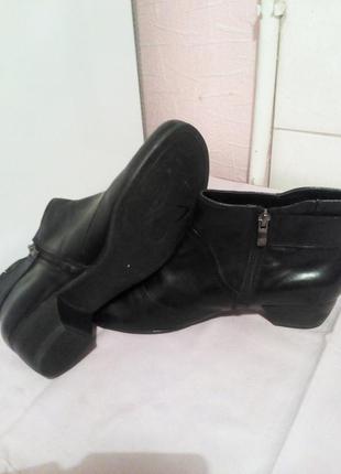 Кожаные ботинки.,,caprice,,.германия.размер 39