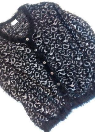 Оригинальный свитер травка