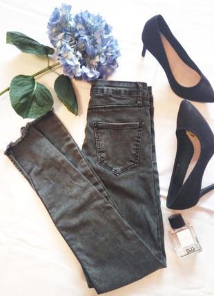 Новые джинсы. джеггинсы. размер s-m. турция.