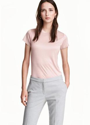 Майка розовая пудра,футьолка,нарядний топ,нарядная футболка,