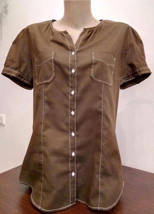 Ну дуууууже легенька блуза від marc o polo з короткими рукавами.