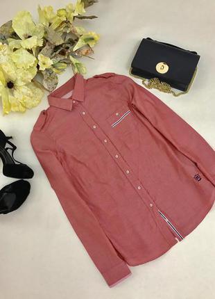 Красивая рубашка цвет хамелеон.из коттона.